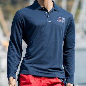 Royal Prince Alfred Yacht Club 150 Years Long Sleeve Polo